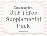 McGraw Hill - Wonders - Unit 3 Supplemental Pack