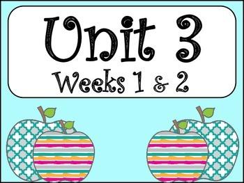 Unit 3 Weeks 1&2 (Fourth Grade)