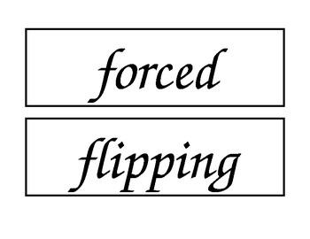 McGraw Hill Wonders Unit 4 Enlarged Spelling Words