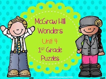 McGraw Hill Wonders Unit 4 Puzzles