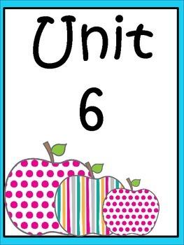 Unit 6 Weeks 1-5 (Third Grade)