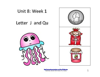 McGraw-Hill Wonders Reading Groups: Unit 8, Week 1:  Letters J/Qu