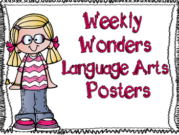 McGraw-Hill Wonders Weekly Language Arts Posters