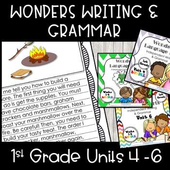 McGraw-Hill Wonders Writing: 1st grade Units 4-6  Bundle