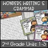 McGraw-Hill Wonders Writing: 2nd grade Units 1-3  Bundle
