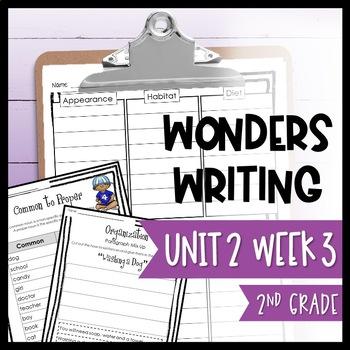 McGraw-Hill Wonders Writing and Grammar: 2nd Grade Unit 2 Week 3