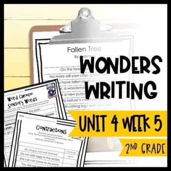 Wonders Writing and Grammar: 2nd Grade Unit 4 Week 5