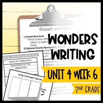 Wonders Writing and Grammar: 2nd Grade Unit 4 Week 6