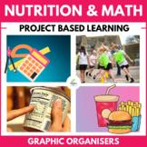 Math Fast Food Unit: (Nutritional Values, Food, Health, St
