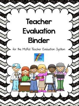 McRel System Teacher Evaluation Binder