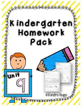 Mcgraw Hill Wonders Kindergarten Homework Unit 9