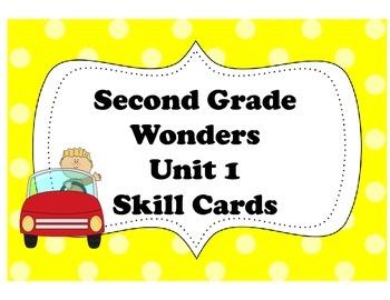 McGraw-Hill Wonders Storyboard Skills Cards Unit 1 Common