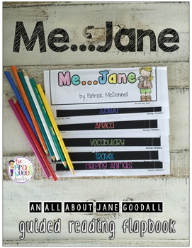 A Jane Goodall Guided Reading Flapbook
