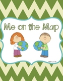 Me On the Map Mini Book