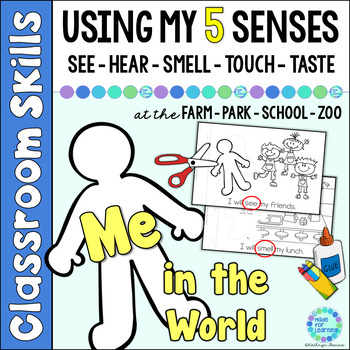 My Five Senses at the Farm, Zoo, Park and School