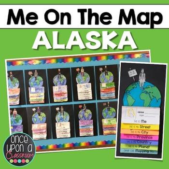 Me on the Map - Alaska!