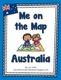 Me on the Map Flipbook Australia