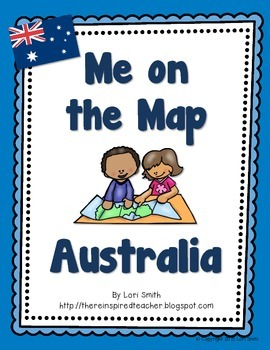 Me on the Map Flipbook Australia