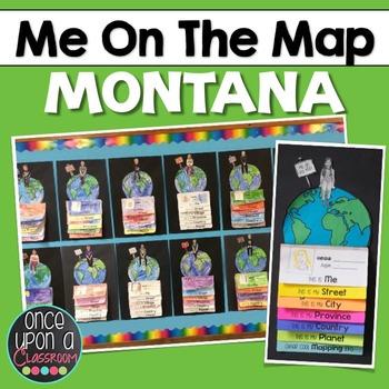 Me on the Map - Montana!
