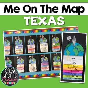 Me on the Map - Texas