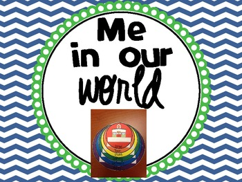 Me on this Earth {A geography craftivity}