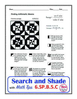 Mean - Average Coloring Search and Shade