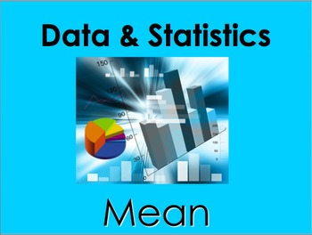 Mean (Average) PowerPoint by Kelly Katz