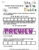 Mean Median Mode Range Pack (Math Centers, Flashcards, Anc