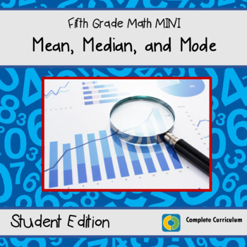 Mean, Median and Mode - 5th Grade Math Mini