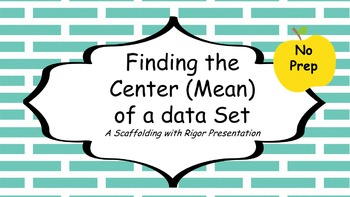 Mean Median and Mode, Finding the Center, and Box Plots
