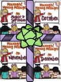 Meaningful Morning Messages 1st Semester Bundle (Kindergarten)