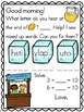 Meaningful Morning Messages 2nd Semester Bundle (Kindergarten)