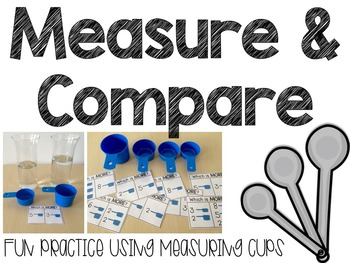 Measure & Compare: Using Science Tools