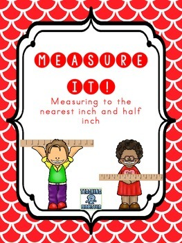 Measure It!  A differentiated {FREEBIE}