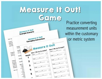 Measure It Out! Game