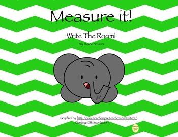 Measure it! Write The Room Safari Theme