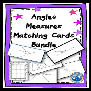 Measure of Angles Matching Card 2 Deck Set