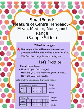 Measure of Central Tendency- Mean, Median, Mode, and Range