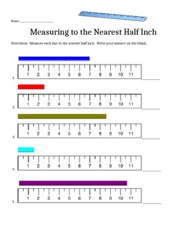 Measure to the Half Inch