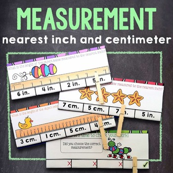 2nd Grade Measurement: Measuring Length in Inches & Centim