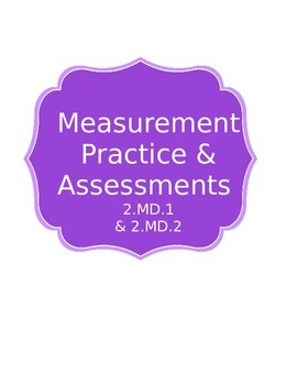 Measurement 2.MD.1 and 2.MD.2