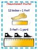 Measurement Activities - Inches, Feet, Yards