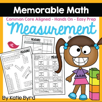Measurement Activities ~ Memorable Math (EASY PREP)