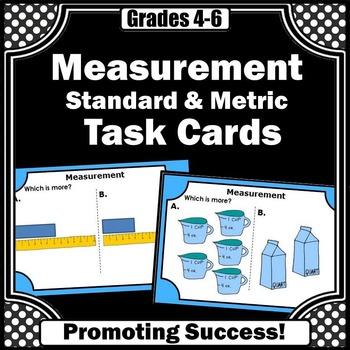 Standard & Metric Measurement Games 4th Grade Common Core