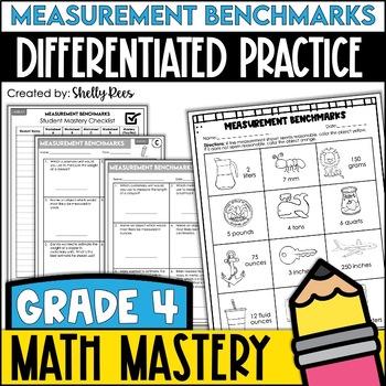 Measurement Benchmarks  (4th Grade Common Core Math: 4.MD.1)