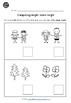 Pre-K Math: Measurement Bundle Worksheets (Comparing Size,