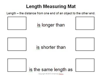 Measurement Center Mats-Length, Weight/Mass, Capacity, Tem