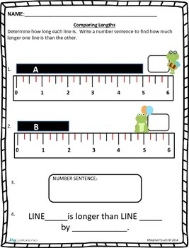 Measurement: Comparing Lengths