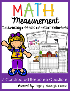 Measurement {Constructed Response Questions} Metric Custom