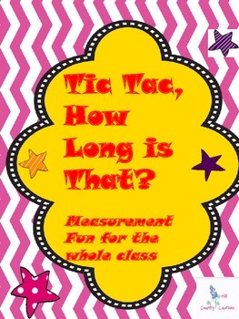 Measurement Conversion, Customary Lengths..(Tic Tac, How L